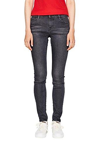 edc by Esprit Skinny Jeans Femme Noir (Black Medium Wash 912)
