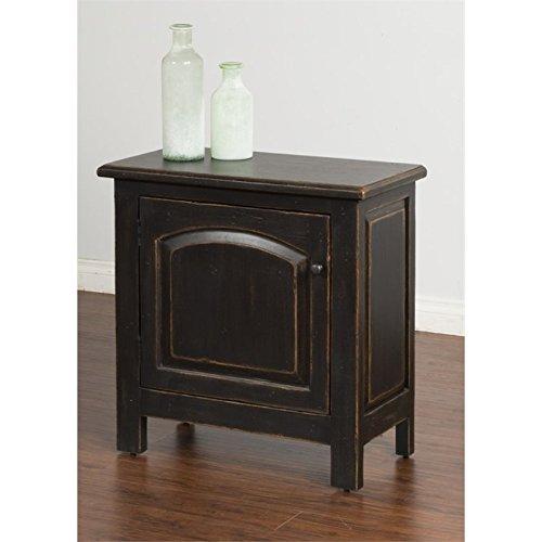 Sunny Designs End Table in Black -  2271B-E