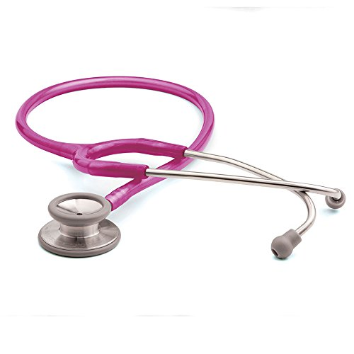 ADC Adscope 603 Clinician Stethoscope with Tunable AFD Technology, 31 inch Length, Metallic -