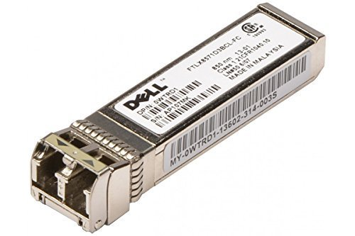 WTRD1 - Transceiver Finisar FTLX8571D3BCL-FC 10GBASE-SR/SW; 10Gbps FC SFP+ by Dell