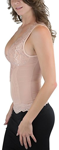 ToBeInStyle Women/'s Lace Top Shapewear Camisole