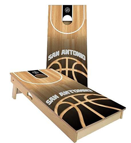 安い購入 Skip's Garage B07N451P81 サンアントニオ バスケットボール ケース コーンホールセット - (2) サイズとアクセサリーをお選びください - ボード2枚 バッグ8枚 B07N451P81 B. 2x3 Boards (All Weather Bags) E.付属品 (1) ケース + (2) ライト B. 2x3 Boards (All Weather Bags), PedraMercado:9fefa11e --- staging.aidandore.com