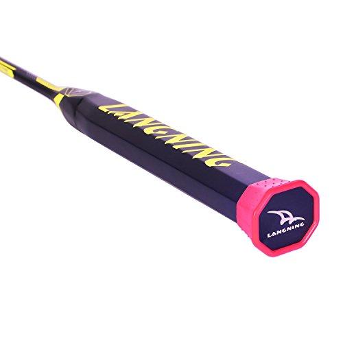 Badminton Racquet Light Racket Set Carbon Fiber 7u Best ...