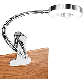 clip on lamp hqoon desktop lamp with stable clamp book light for reading in