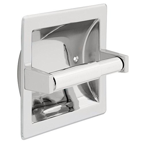 Franklin Holder - Franklin Brass D2497PC, Bath Hardware Accessory, Recessed Tissue Paper Holder