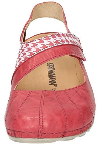 Dr para mujer Bailarinas 710810 Brinkmann Rot B0q6w7rA0P