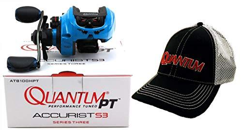 Quantum PT ACCURIST S3 ATB100HPT 7.0:1 Right Hand BAITCAST Reel + HAT