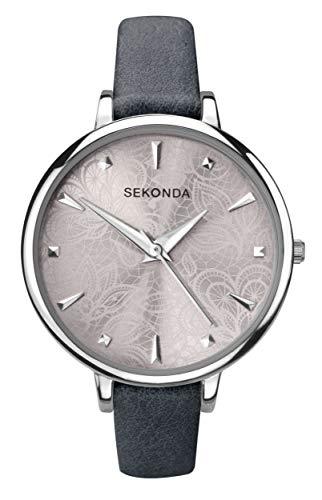 Sekonda Editions Ladies Classic Patterned Dial Analogue Quartz Watch