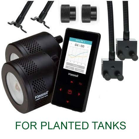 Kessil Two A360WE Tuna Sun Planted Tank LED Light Bundles for sale  Delivered anywhere in USA