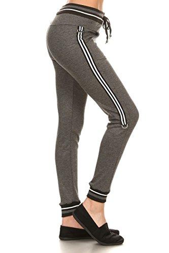 Womens 3 Stripe Pant - 8