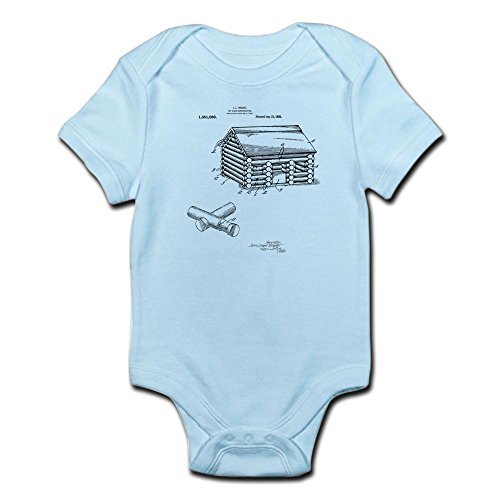 CafePress Toy Log Cabin Body Suit - Cute Infant Bodysuit Baby Romper ()