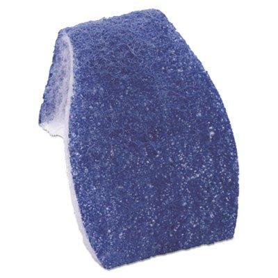 Scotch-Brite Disposable Toilet Scrubber Refill, Blue/White, 6/Pack (Scotch Brite Toilet Scrubber)