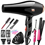Axemoore Professional Blu-ray 3000W Hair Dryer Negative Ion Dryer...