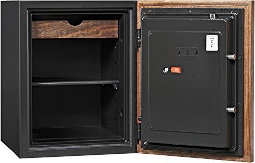 Phoenix DBAUM Fingerprint Lock Luxury Fireproof Safe with Walnut Door 2.28 cu ft by Phoenix Safe International (Image #2)