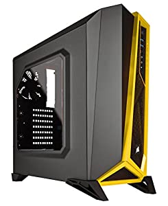 Corsair Carbide Series SPEC-ALPHA Mid-Tower Gaming Case,  Black/Silver