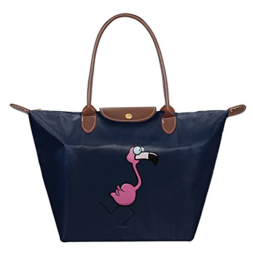 OUDE Pink Flamingo Running Fashion Ladies Folding Dumpling - Las In Malls Vegas Outlet