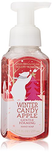 Bath & Body Works Anti-bacterial Gentle Foaming Hand Soap Winter Candy Apple