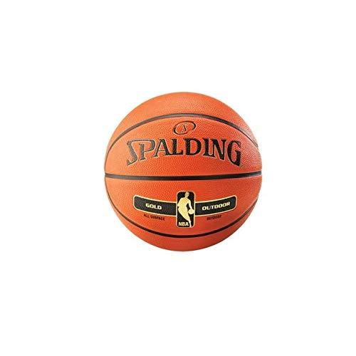 - Spalding NBA Gold Series Outdoor Basketball Size 29.5