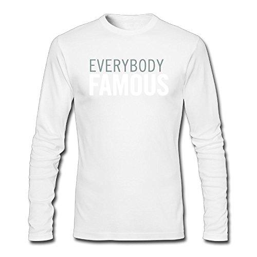 Maurm EVERYBODY FAMOUS Men Long Sleeve T Shirt Autumn Tshirt