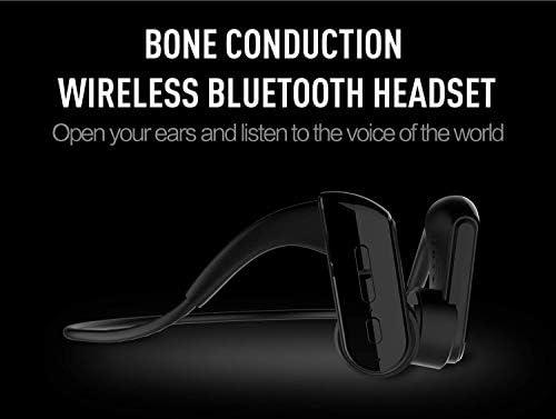 Jszzz Casque d'écoute Bluetooth os Conduction, Casque stéréo