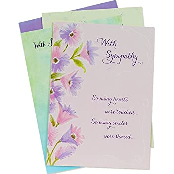 Amazon designer greetings sympathy greeting cards with designer greetings sympathy greeting cards with envelopes assorted 12 count m4hsunfo