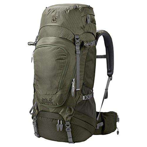 Jack Wolfskin Highland Trail Xt 50 Wandern Outdoor Trekking Rucksack woodland green