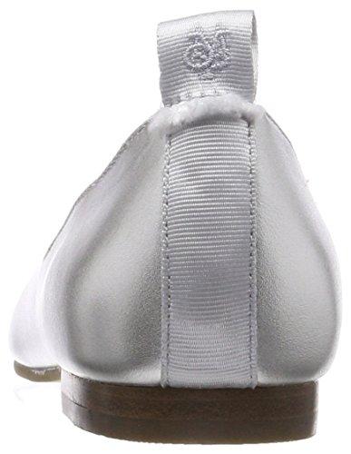 Silver Silver Toe Closed Women's 80214003005100 Ballet Ballerina Marc Flats O'Polo WzpwxHnq68