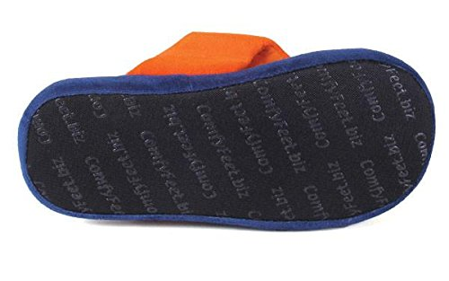 Auburn OFFICIALLY Comfy LICENSED Flop and Tigers NCAA College Feet Happy Mens Womens vAFqB