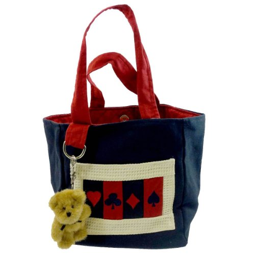 Price comparison product image BOYDS BEARS PLUSH ACES SMALL TOTE Fabric Americana Accessory 811702 Rfb