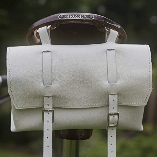 【好評にて期間延長】 London Craftwork Leather B07563G1NB Large Bicycle Bag Saddle/Handlebar/Frame XL-WH Bag in White Leather Classic Bag XL-WH B07563G1NB, シャコタングン:861972a0 --- ciadaterra.com