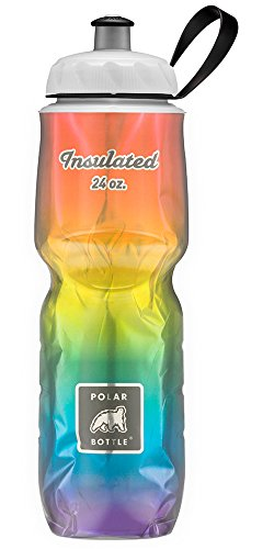 Polar Bottle Amazon Exclusive Insulated Water Bottle - 24oz. (Pride) - Exclusive Water