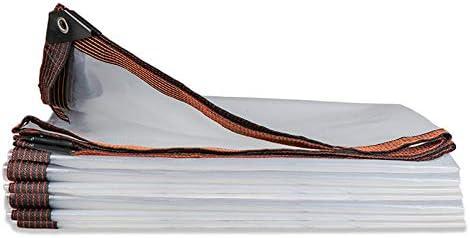 FOOX Lona Transparente Exterior, Lona Toldo, Espesor 0.12mm Aislamiento A Prueba de Polvo Protector Solar A Prueba de Lluvia Sombra Invernadero de Plantas Pérgola: Amazon.es: Deportes y aire libre