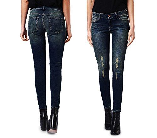 Jeans da donna a vita alta 81128 mod. KENDRA slim fit taglie dalla XS alla XL. MEDIA WAVE store