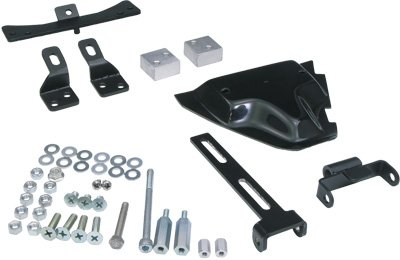 West-Eagle Solid Mount Solo Seat Mounting Kit H2399 ()
