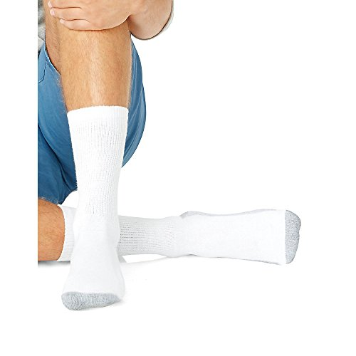cushion-crew-big-and-tall-wh-w-gy-heel-toe-socks-6-packsize-12-14