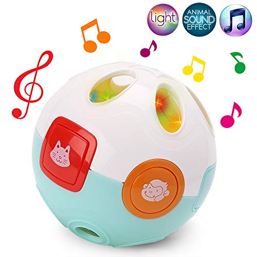 Baby Music Flashlight Moving Crawling Learning Ball Toys