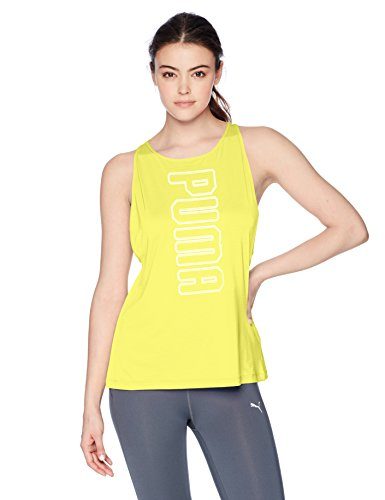Tonic Top - PUMA Women's Spark Tank Top, Lemon Tonic, M