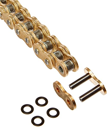 DID 525ZVMXG-120 Gold X-Ring Chain with Connecting Link