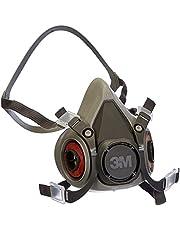 3M XA007702658 6200M herbruikbaar halfmasker, maat M, grijs