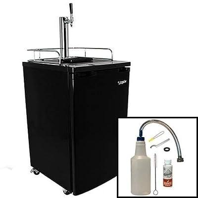 EdgeStar Ultra Low Temperature Full Size Kegerator & Keg Beer Cooler w/ Cleaning Kit