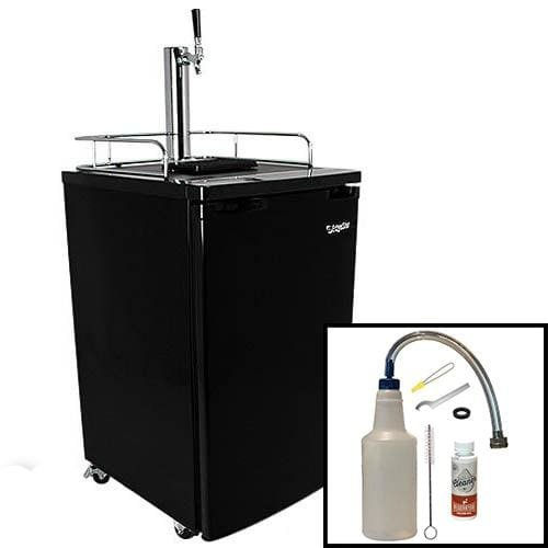 EdgeStar Temperature Kegerator Cooler Cleaning