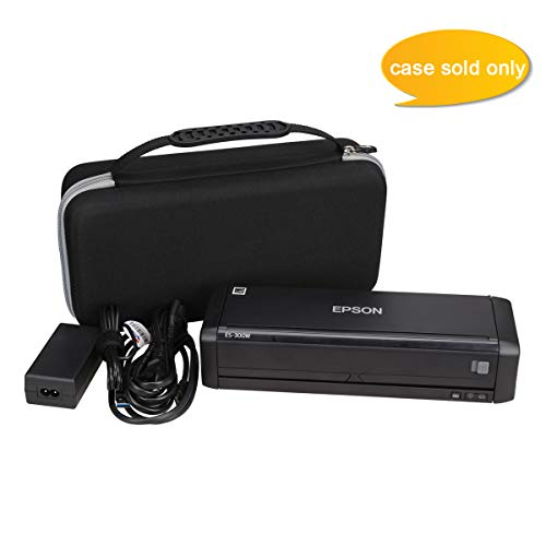 Aproca Hard Carry Travel Case fit Epson Workforce ES-300W Wireless Color Portable Document Scanner by Aproca (Image #4)