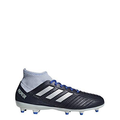 Adidas Predator 18.3 FG W - Zapatillas de fútbol para Mujer, Talc/Vapour Grey/Maroon, 9 M US