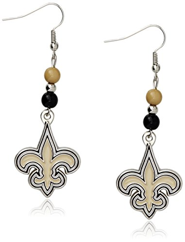 NFL Fan Bead Dangle Earrings – DiZiSports Store