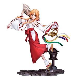 ソードアート・オンライン アリシゼーション War of Underworld アスナ巫女 Ver. 1/7 完成品フィギュア