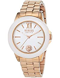 Womens Abbey Road Quartz Stainless Steel Casual Watch, Color:Rose Gold-