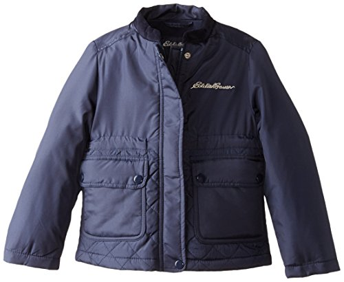 Eddie Bauer Girls' Jacket (More Styles Available), Navy, 5/6