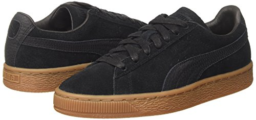 black Classic Natural Puma Mode Suede Noir Warmth black Basket Homme F8OHqw