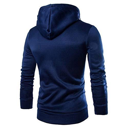 Homme Taille Tops Aimee7 Marine Sweats Tee À Survêtements Sweatshirt Grande Capuche wP7tT