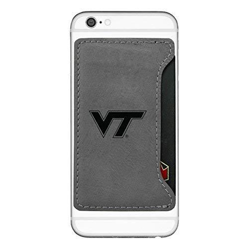 Amazon.com: Virginia tech-cell teléfono tarjeta holder-grey ...